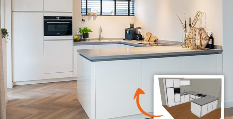 Online keuken ontwerpen ontwerpprogramma keuken Keukenloods.nl