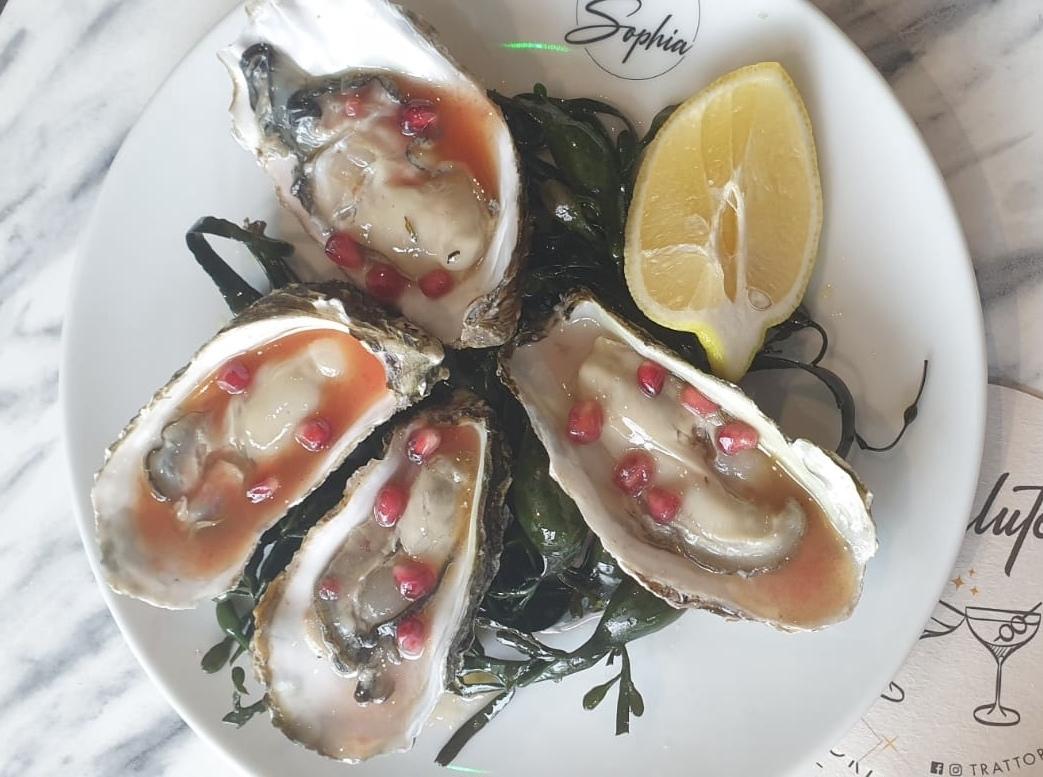 Trattoria Sophia valentijnspakket oesters