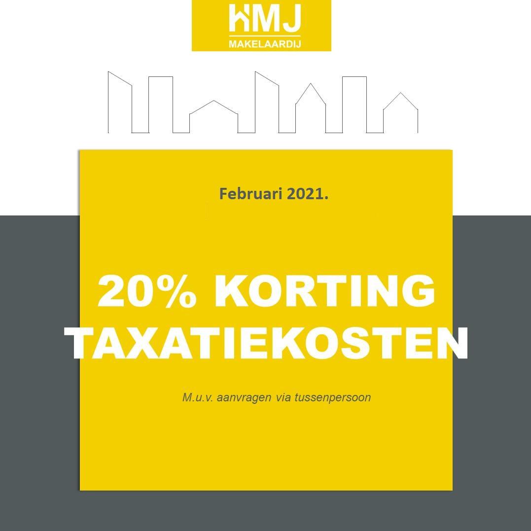 Taxatiekosten korting HMJ