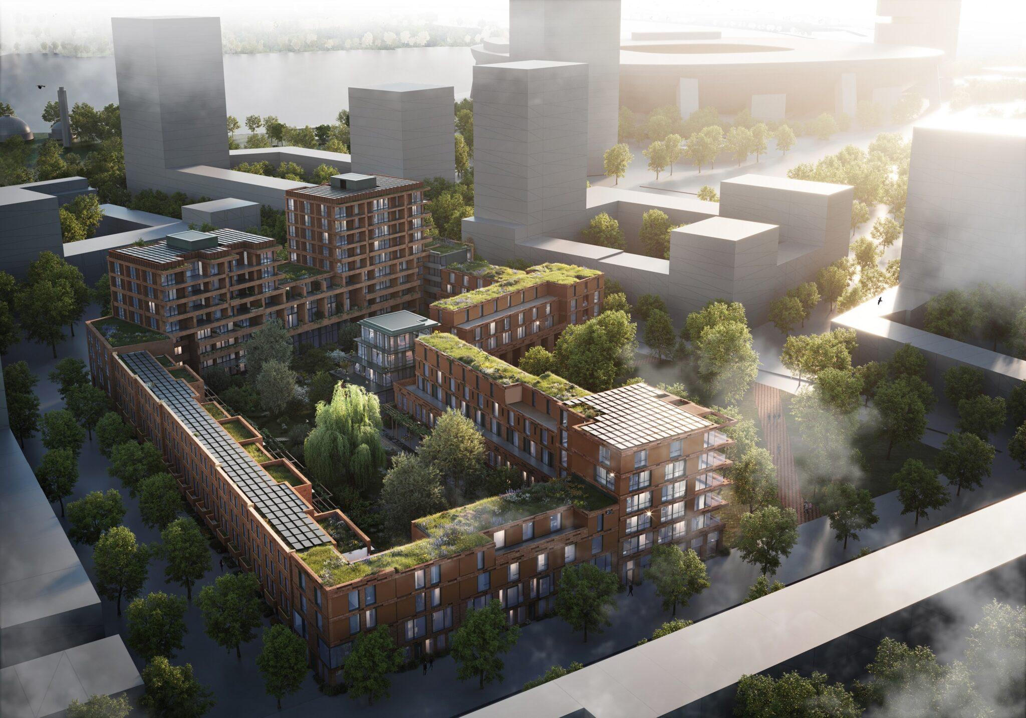 Nieuwbouwproject KOER Rotetrdam-West Laan op Zuid