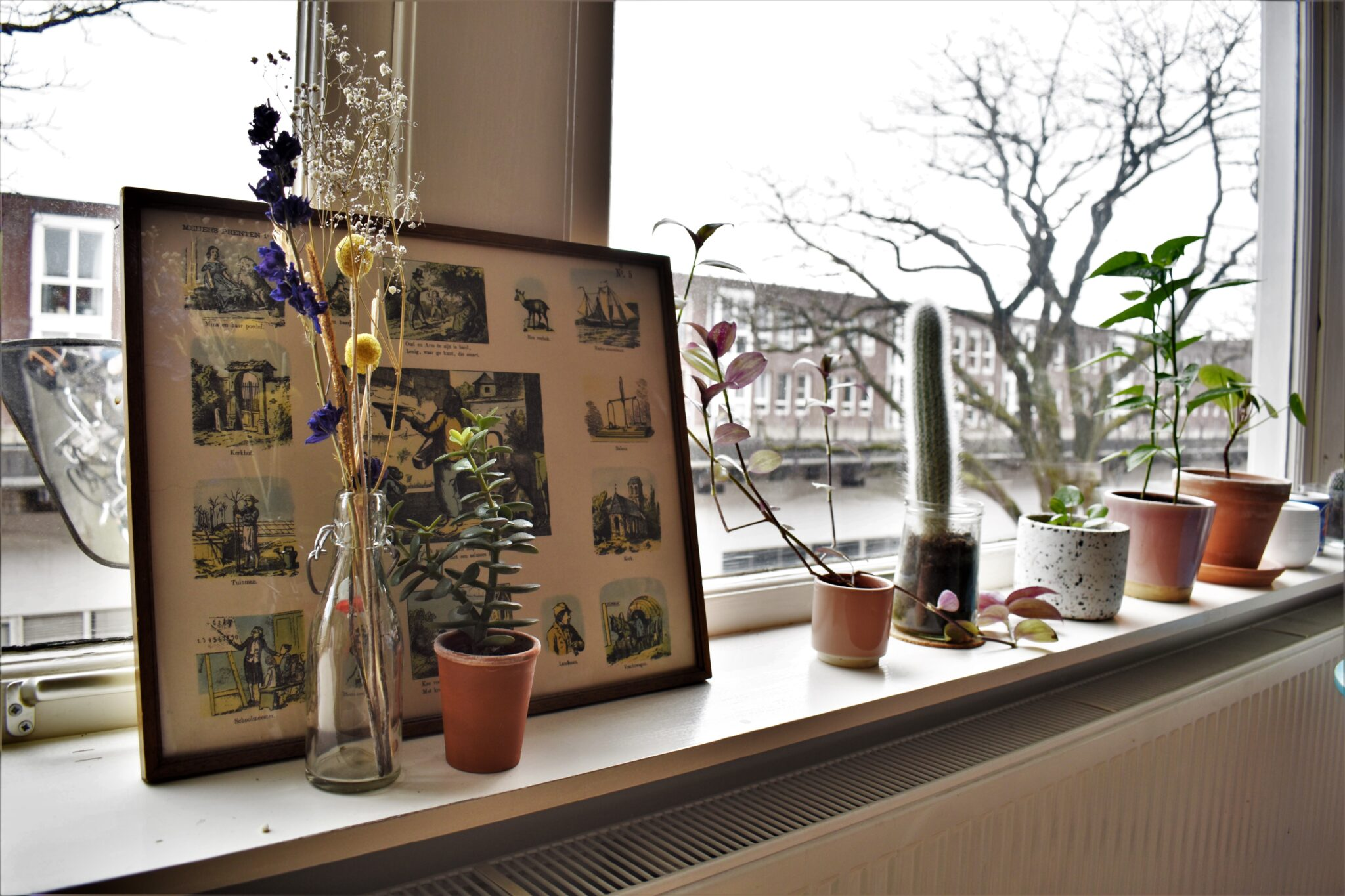 binnenkijken bij annabel en alex vensterbank close-up