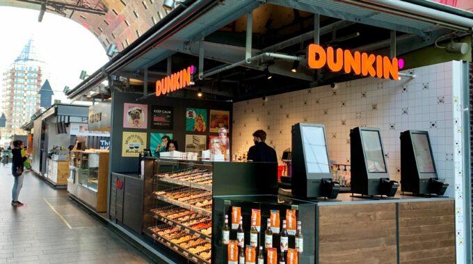 Dunkin' Donuts in de Markthal