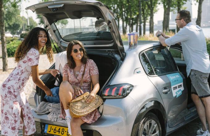 Juuve deelauto Rotterdam