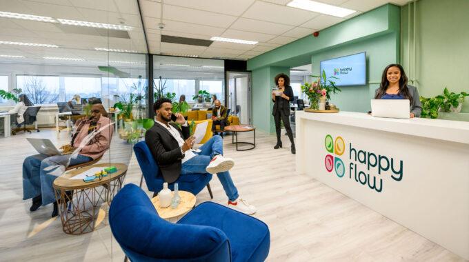 Happy Flow flexwerkplek Rotterdam