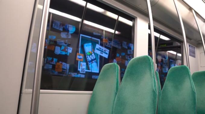metro reclame rotterdam