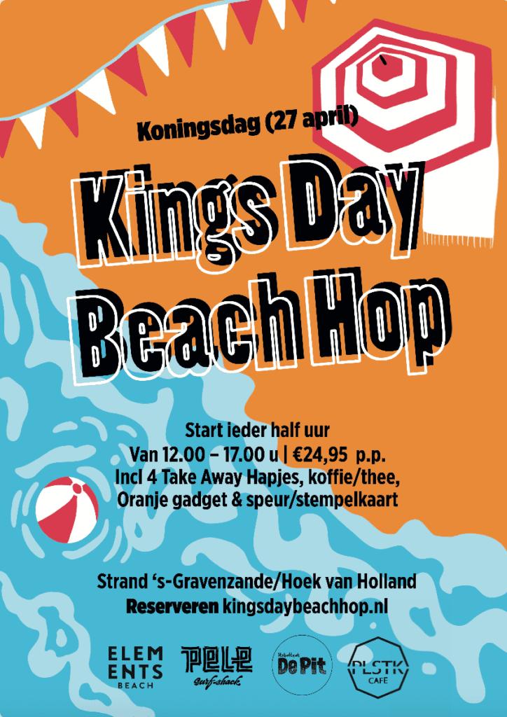kingsday beach hop