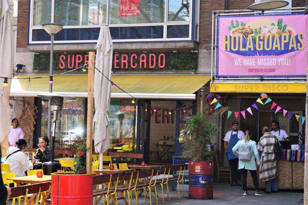 supermercado eerste terrasdag