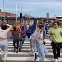 dansend stoplicht