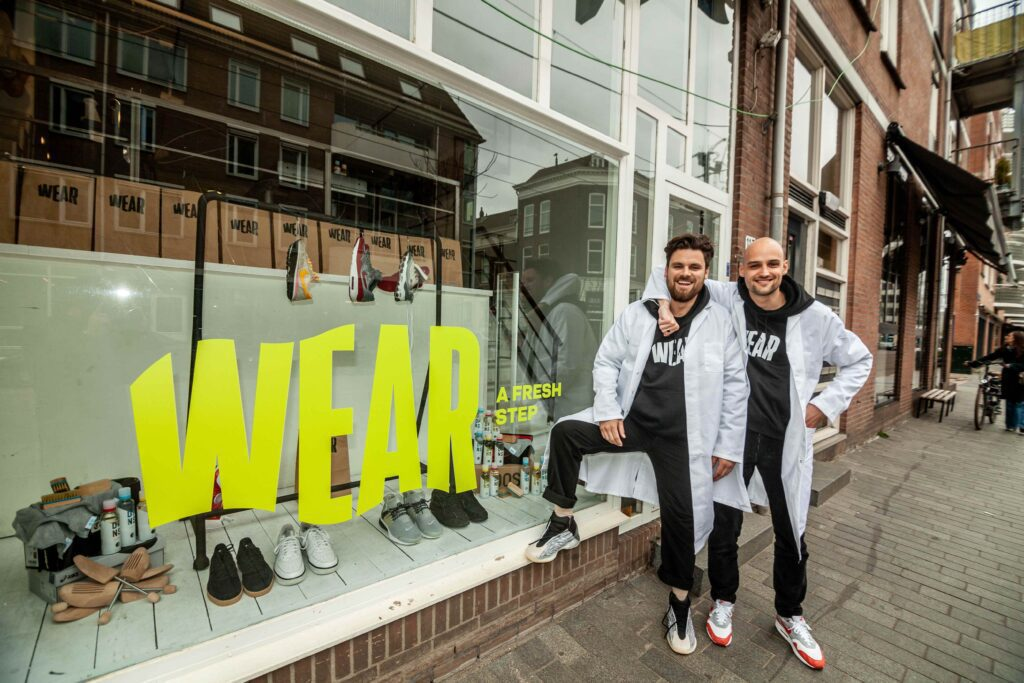 Wear sneakers Rotterdam Pim Roggeveen Lorenzo van Galen
