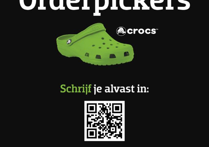 Vacature orderpicker Crocs