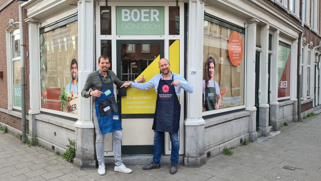 Robertjan Piek en Serge Knook voor BOERgondisch Rotterdam