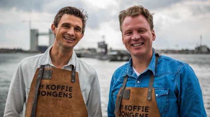 De Koffiejongens Walter en Corne