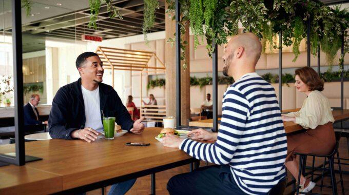Bijenkorf Rotterdam restaurant the Kitchen vernieuwd