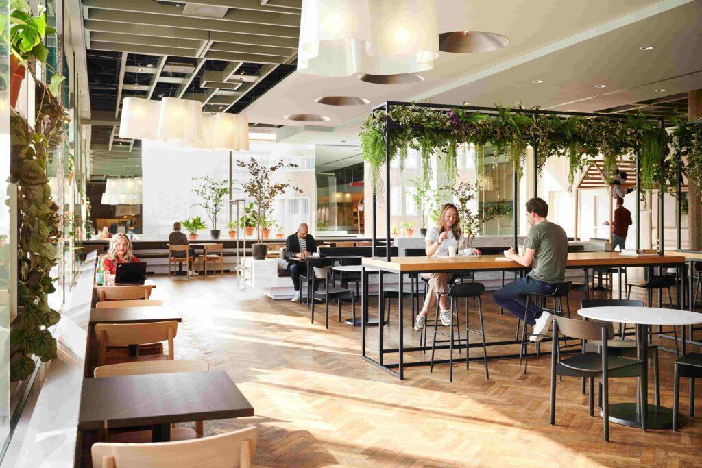 Bijenkorf Rotterdam restaurant the Kitchen