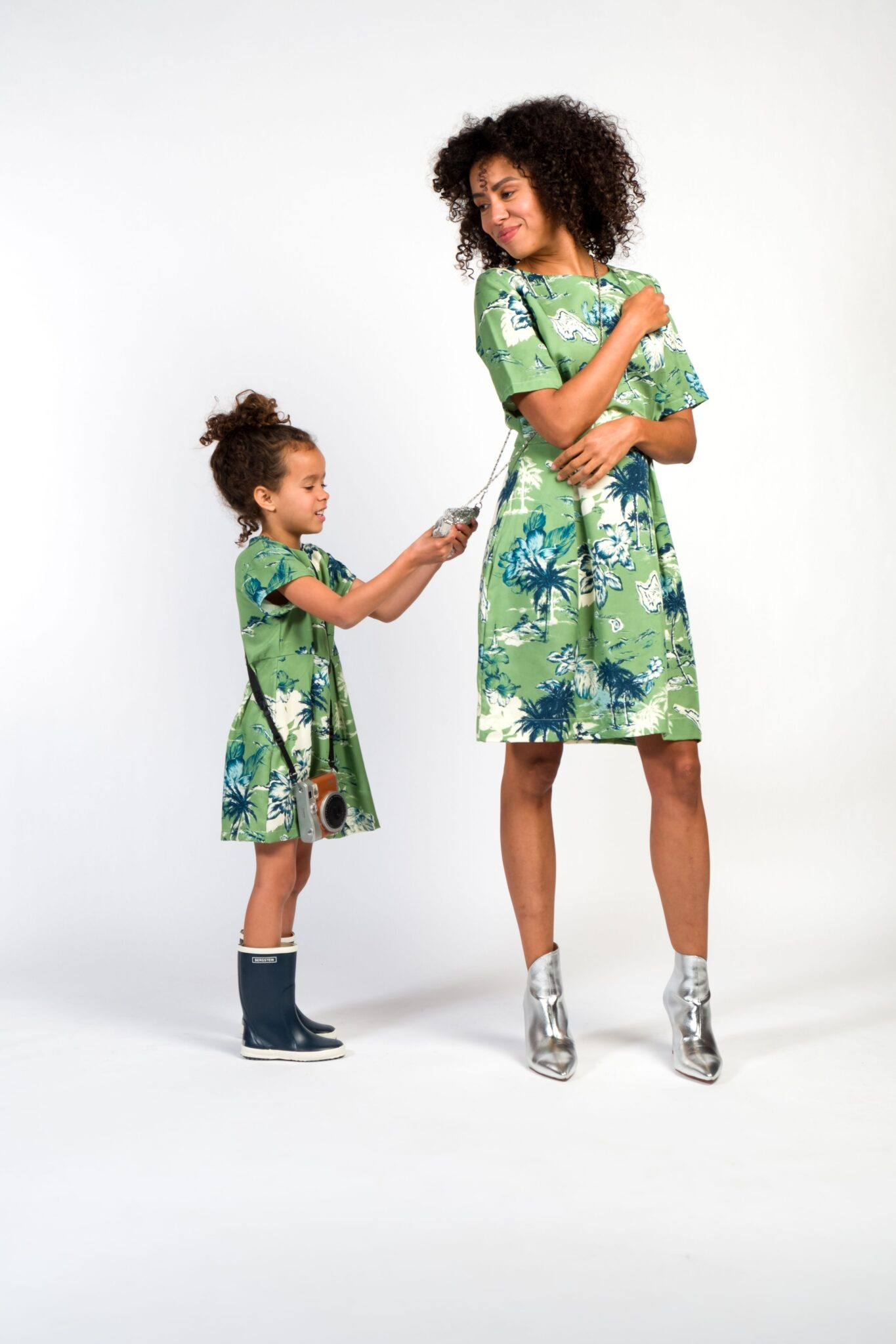 Twinning moeder dochter jurkjes