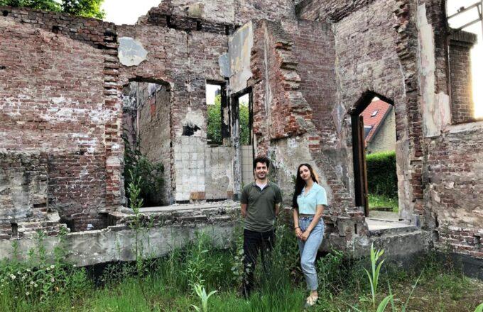 Mina en Nima Julianakerk Heijplaat
