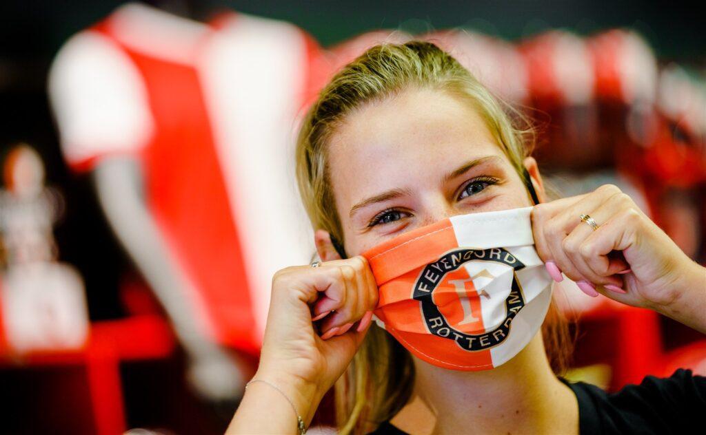 Feyenoord mondkapje
