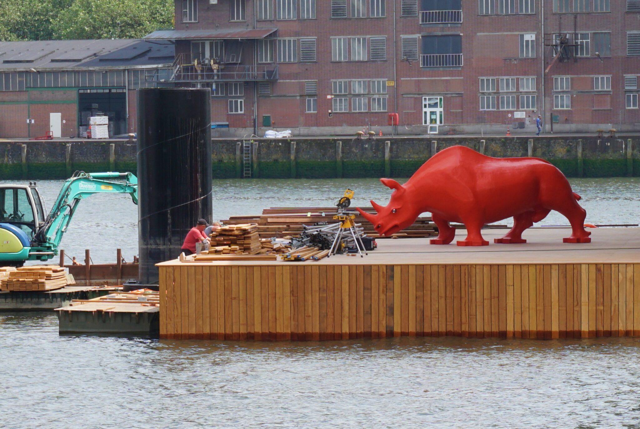 neushoorn Joep van Lieshout
