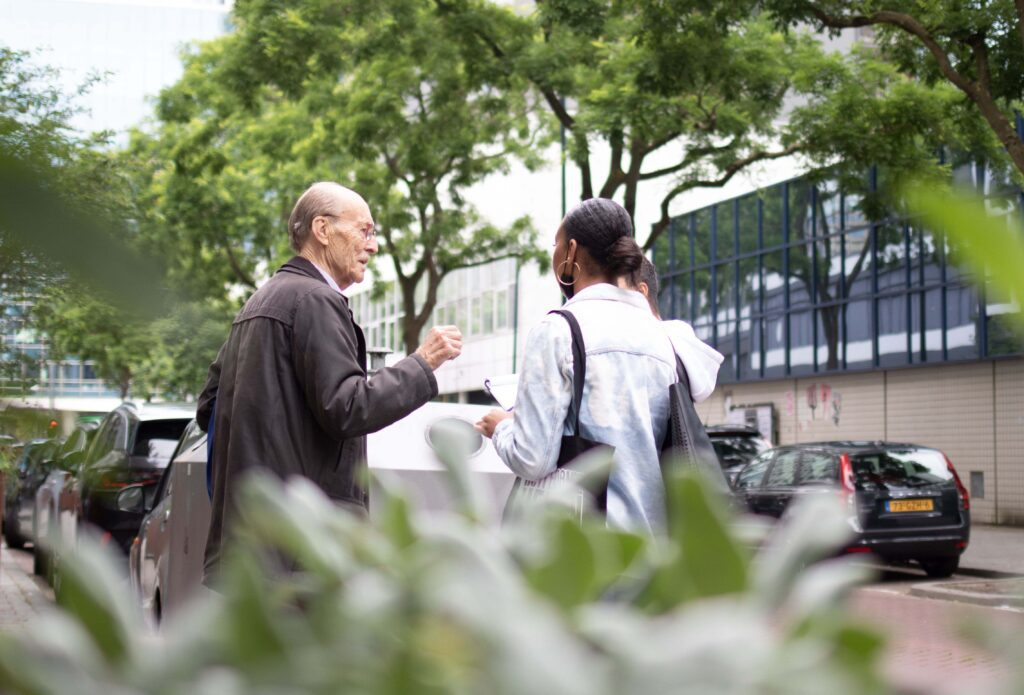 Rotterdamse Helden kunstwandeling