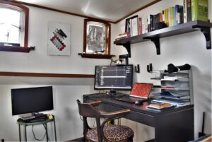binnenkijken bij Marcus bureau