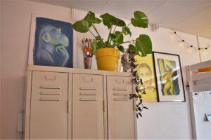 binnenkijken bij ester schilderijen