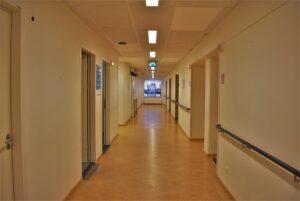 binnenkijken bij ester ziekenhuisgang