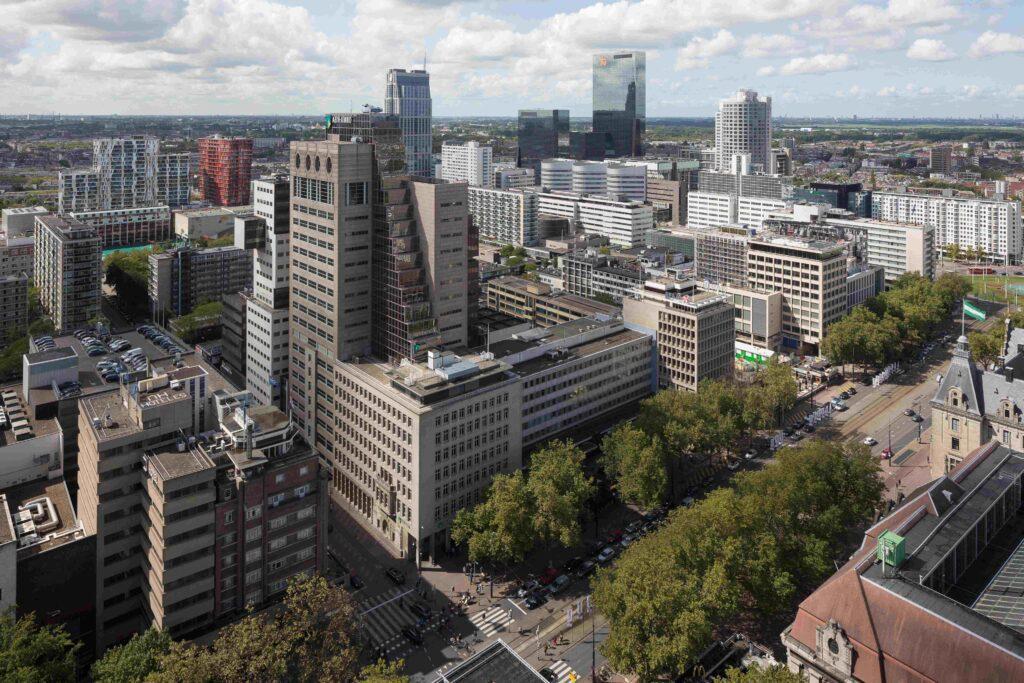 Vacatures Rotterdam uitzicht centrum kantoren