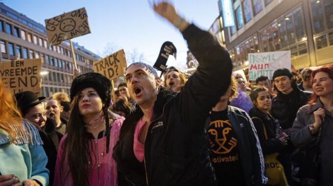 protestmars rotterdam februari 2019