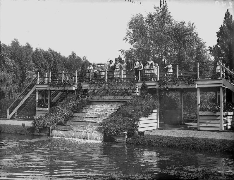 watertrap in het Plaswijckpark