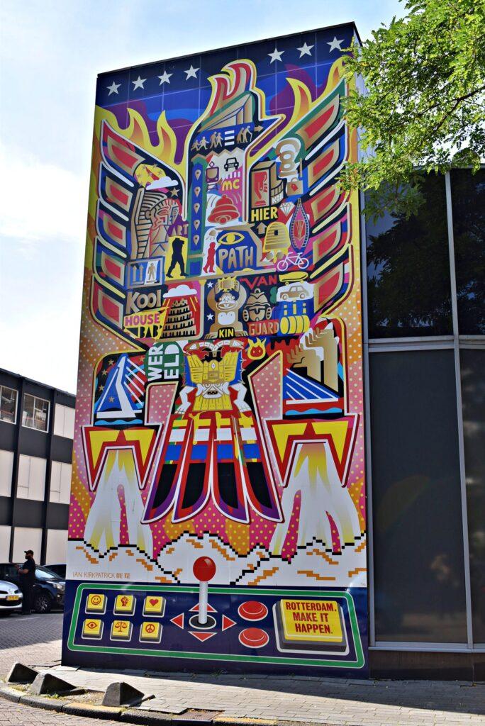 street art interactief kruiskade