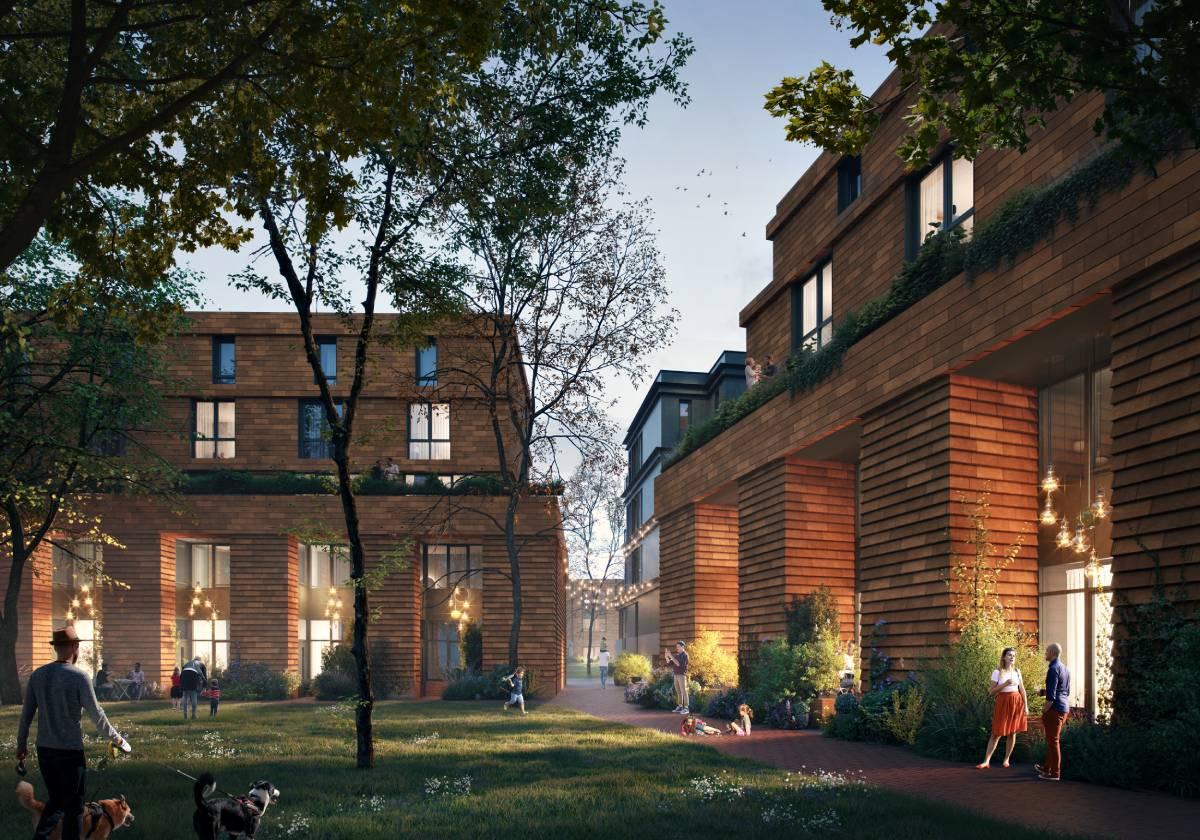 Nieuwbouwproject KOER Rotetrdam-West Laan op Zuid 2
