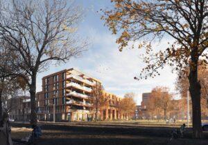 Nieuwbouwproject KOER Rotetrdam-West Laan op Zuid 1