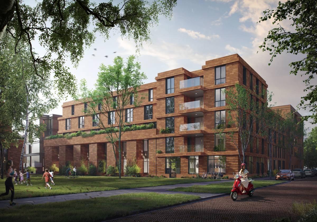 Nieuwbouwproject KOER Rotetrdam-West Laan op Zuid 3