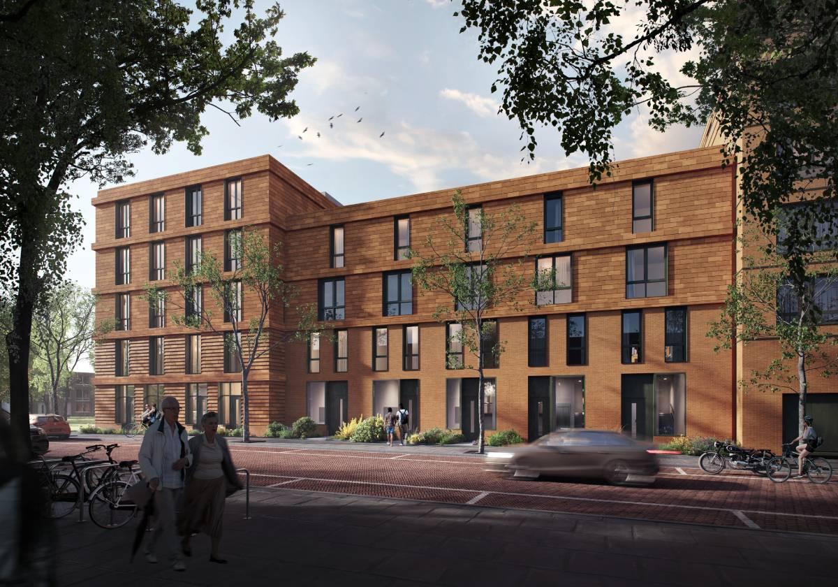 Nieuwbouwproject KOER Rotetrdam-West Laan op Zuid 4