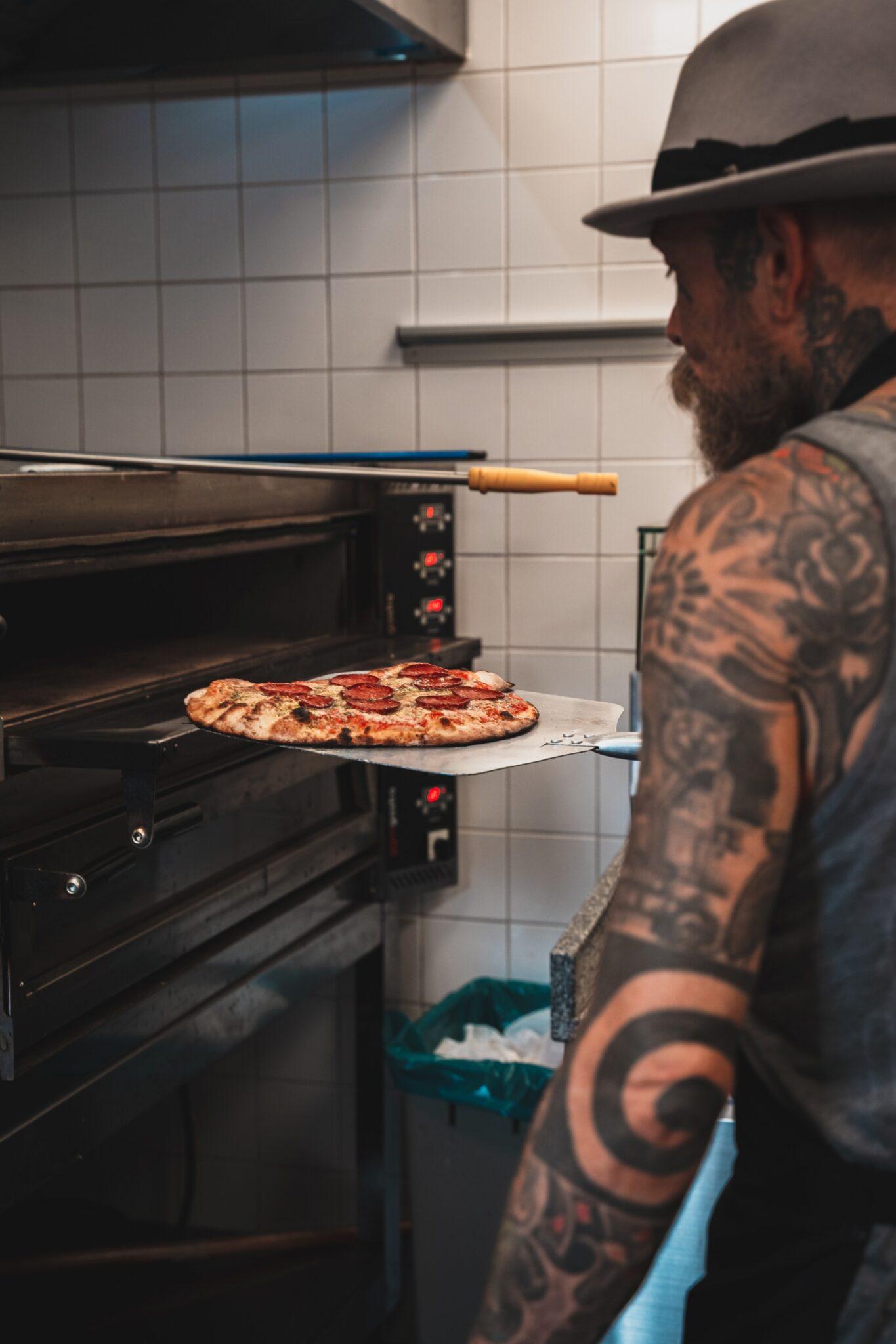 pizza bakken schorem