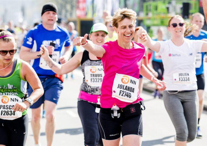 Route NN Marathon Rotterdam 2021