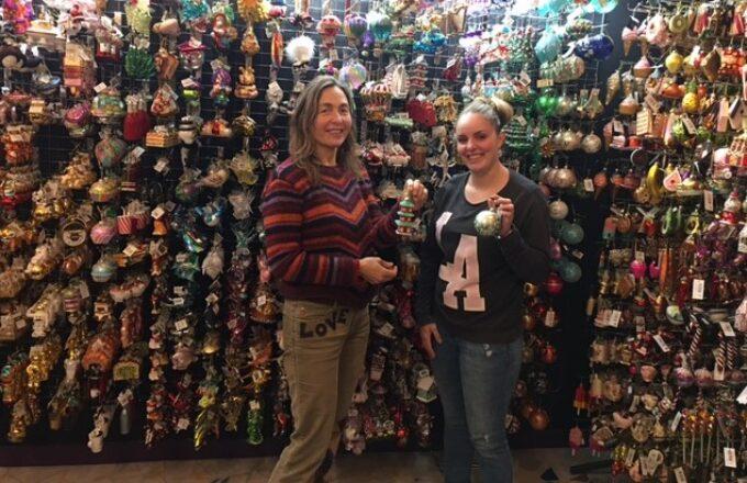 Alles in Wonderland - kerstballen kerstdecoraties ornamenten Rotterdam kerstwinkel Tanja en Nancy