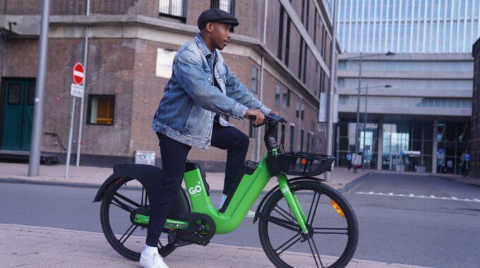 go sharing deelfietsen e-bikes