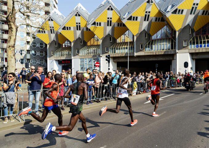 marathon rotterdam foto anp