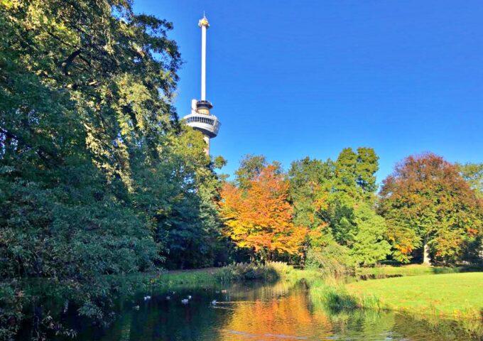 het park euromast herfst
