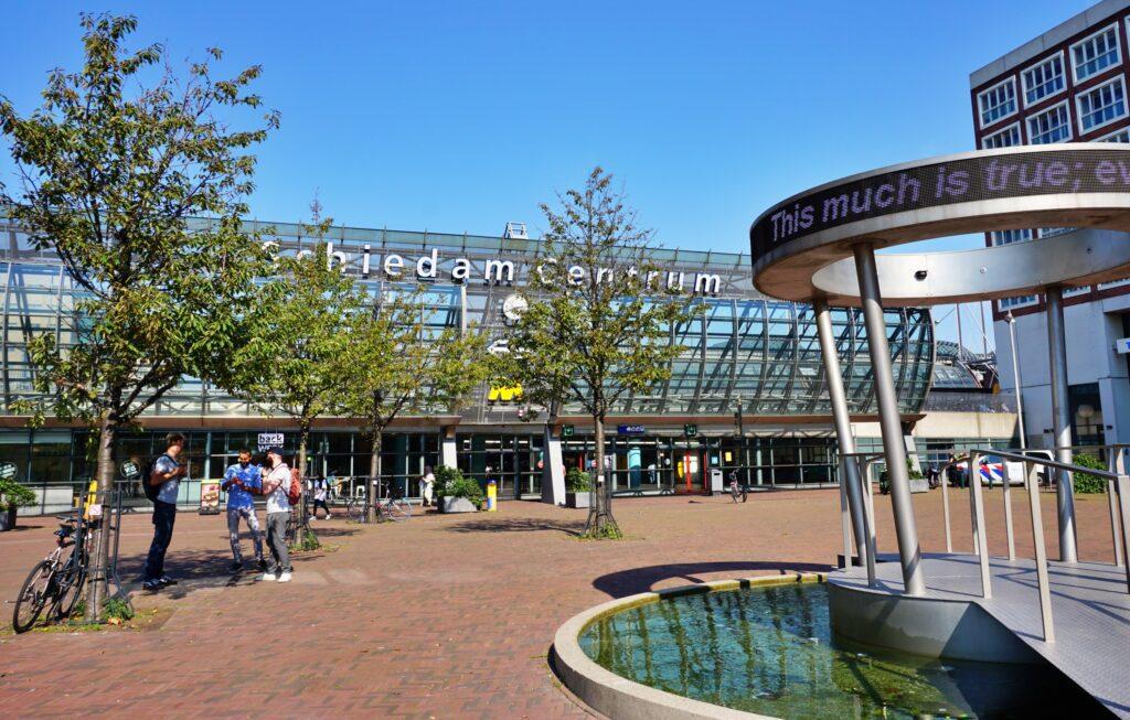 Station Schiedam centrum