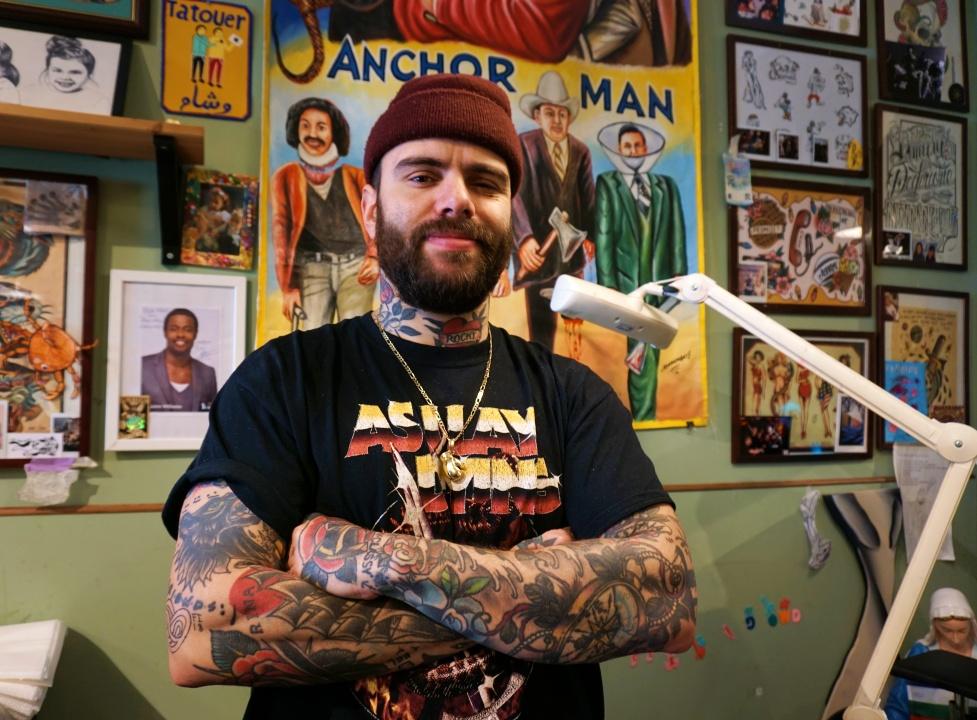Hans stay classy tattoo