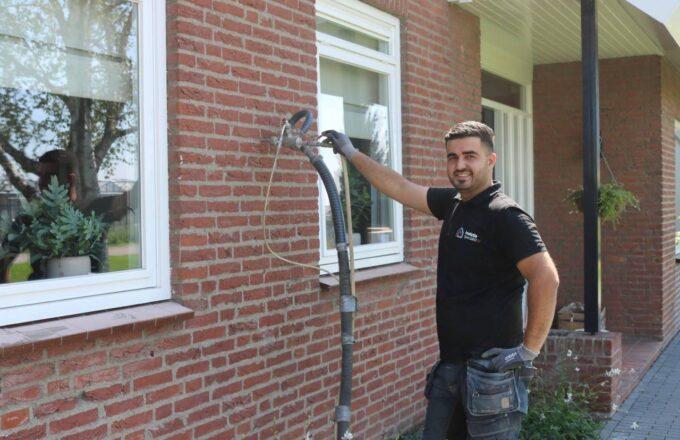 Huis isoleren hittegolf Schiedam collectieve inkoop korting voordelig spouwmuurisolatie