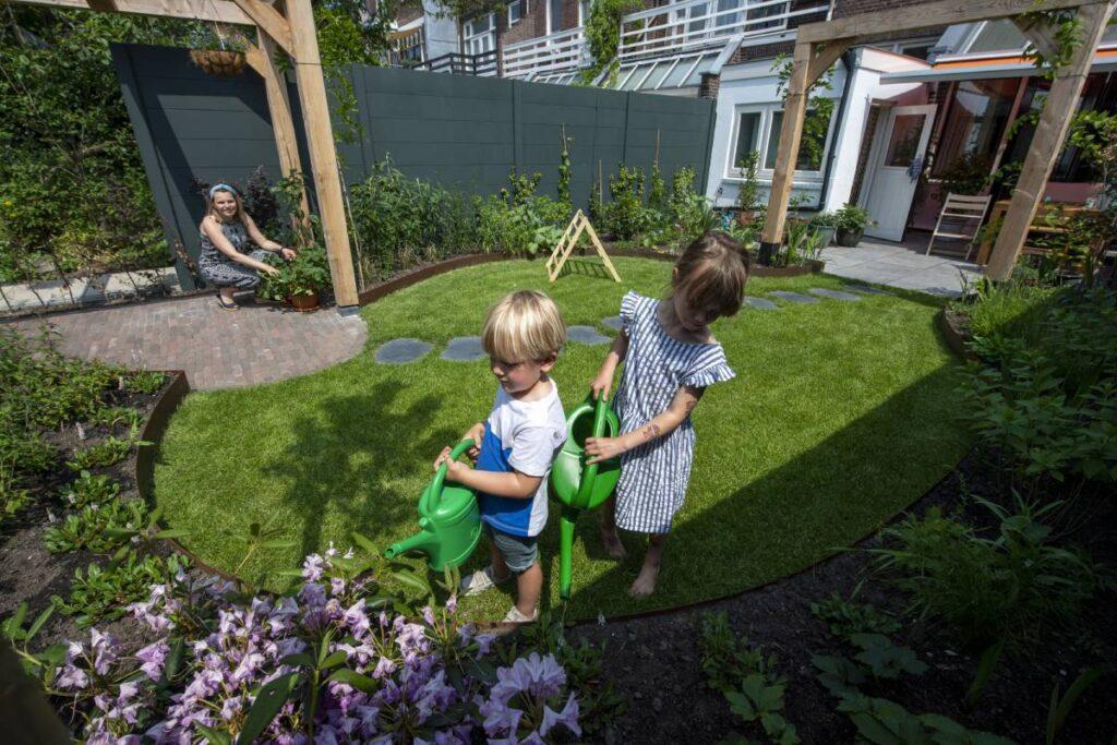 Subsidie vergroenen tuin Schiedam Waterklaar verduurzamen wateroverlast voorkomen