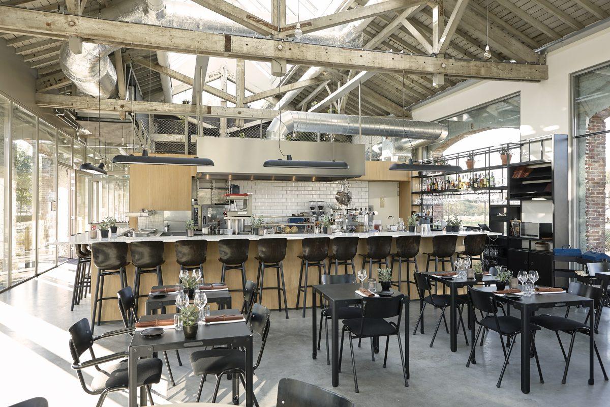 De Houtloods, een van de drie beste restaurants van Tilburg volgens Lekker