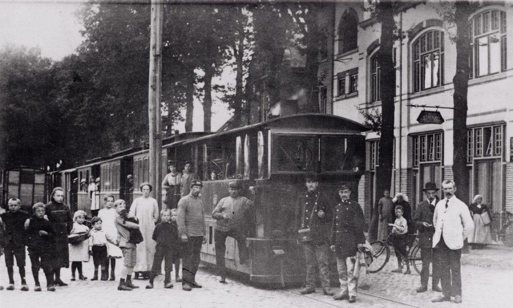 De tram die ook door Tilburg reed