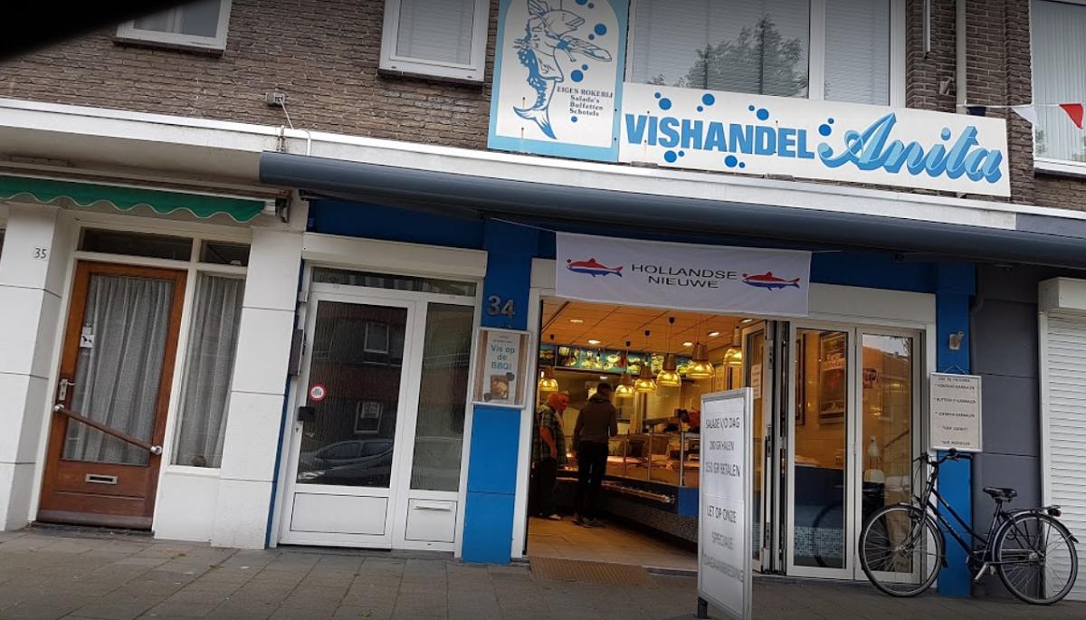 Vishandel Anita in Tilburg