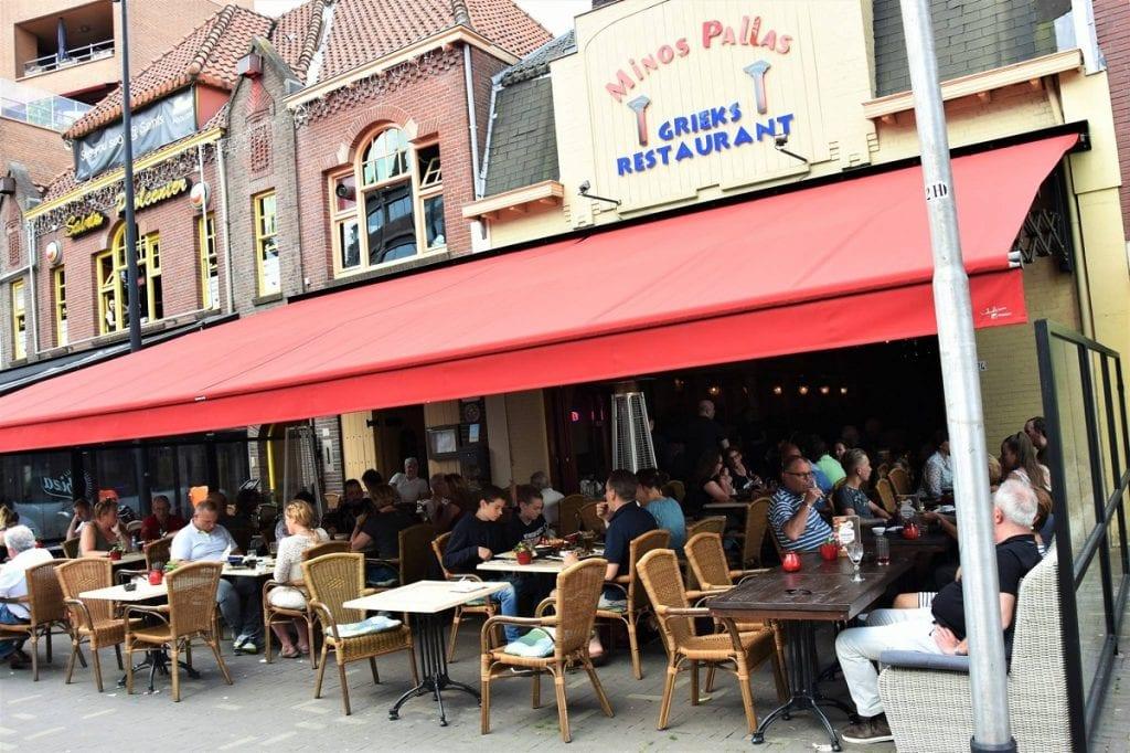 Grieks restaurant Minos Pallas op de Heuvelring in Tilburg