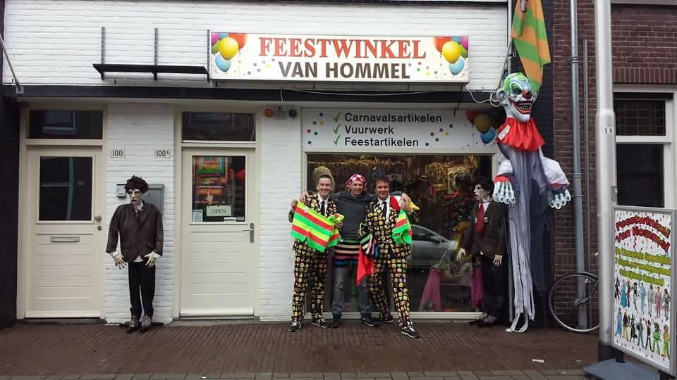 Feestwinkel Van Hommel