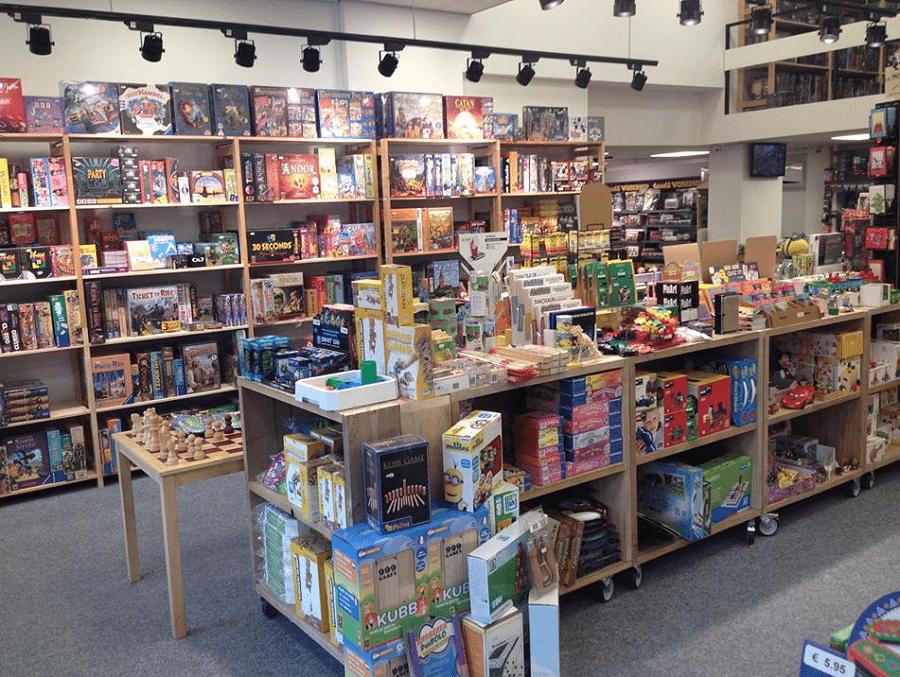 Spellenwinkel De Dobbelsteen